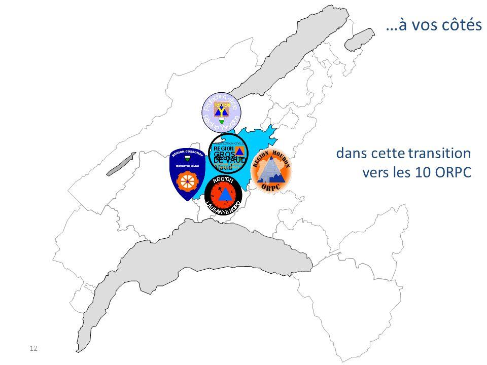 …à vos côtés dans cette transition vers les 10 ORPC Gros-de-Vaud