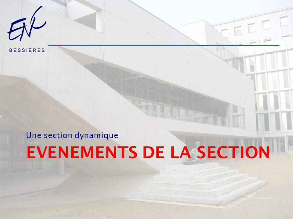EVENEMENTS de la section