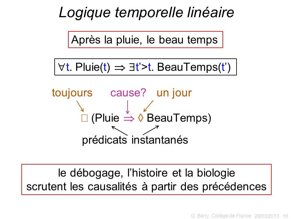 Logique temporelle linéaire