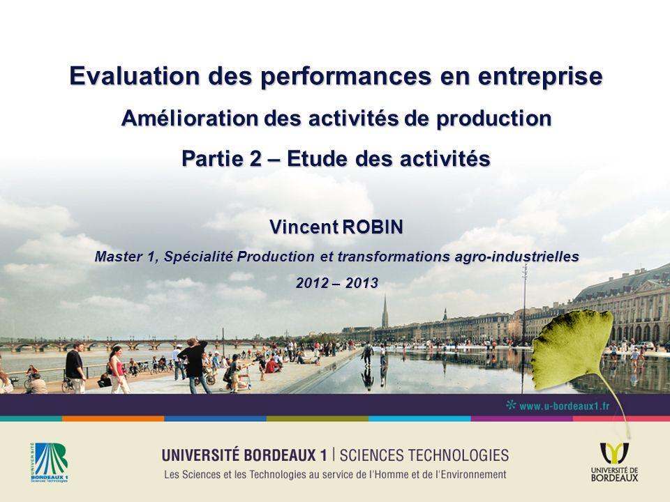 Evaluation des performances en entreprise