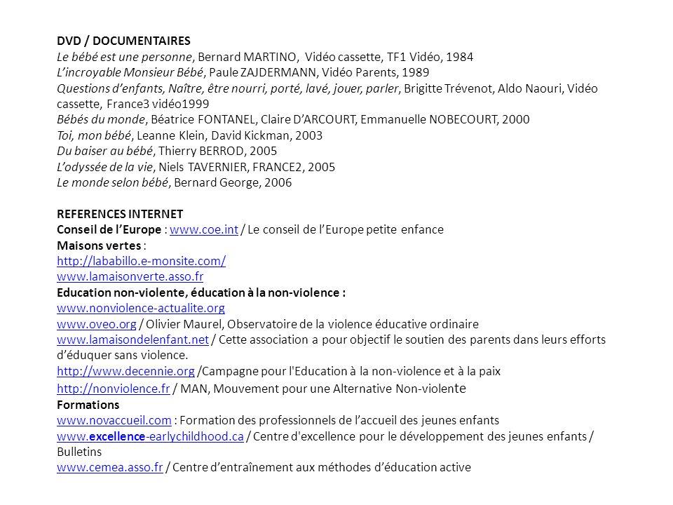 DVD / DOCUMENTAIRES Le bébé est une personne, Bernard MARTINO, Vidéo cassette, TF1 Vidéo, 1984.