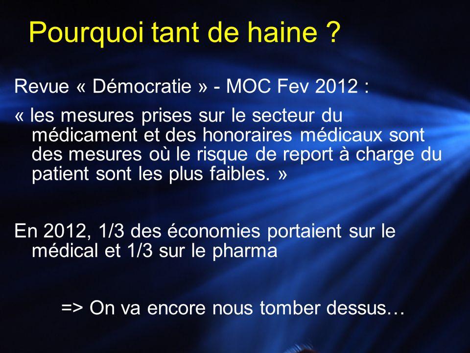 Pourquoi tant de haine Revue « Démocratie » - MOC Fev 2012 :