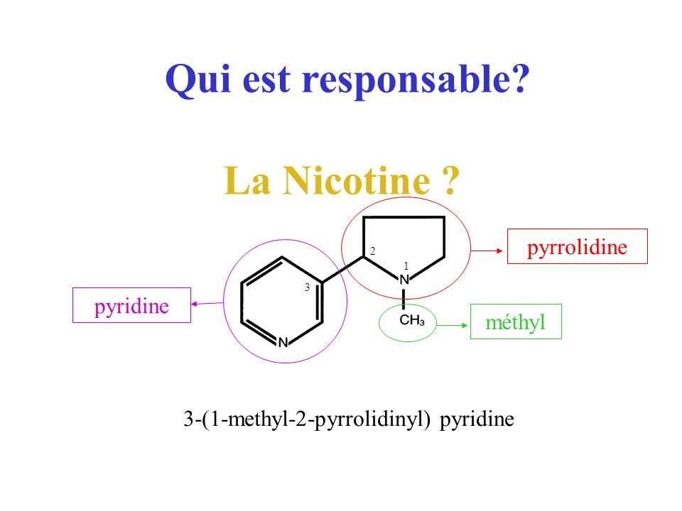 3-(1-methyl-2-pyrrolidinyl) pyridine