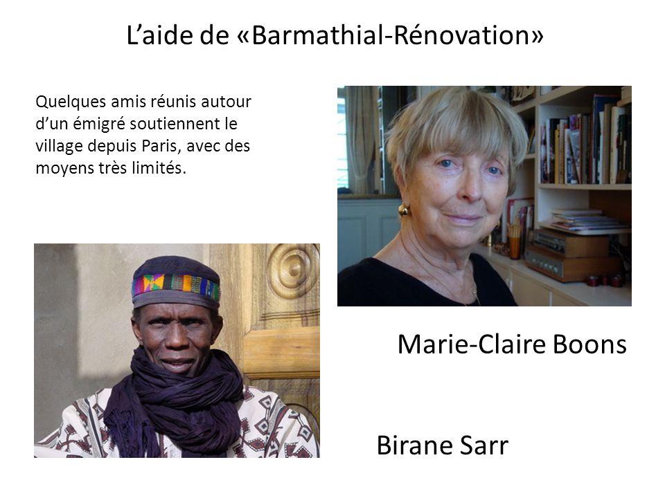 L'aide de «Barmathial-Rénovation»