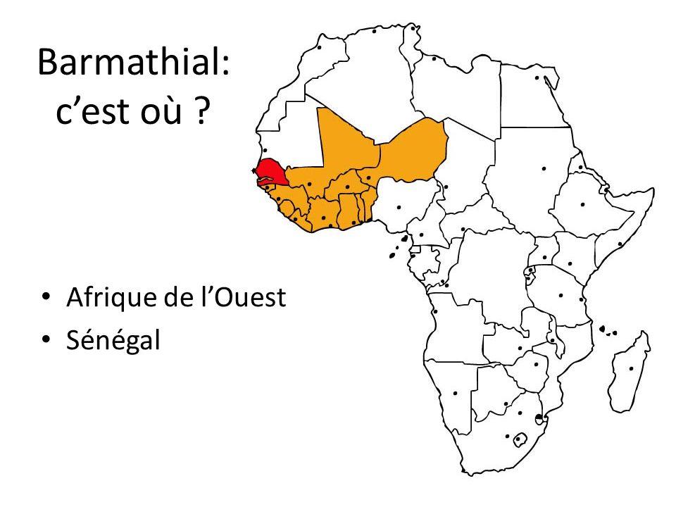 Barmathial: c'est où Afrique de l'Ouest Sénégal