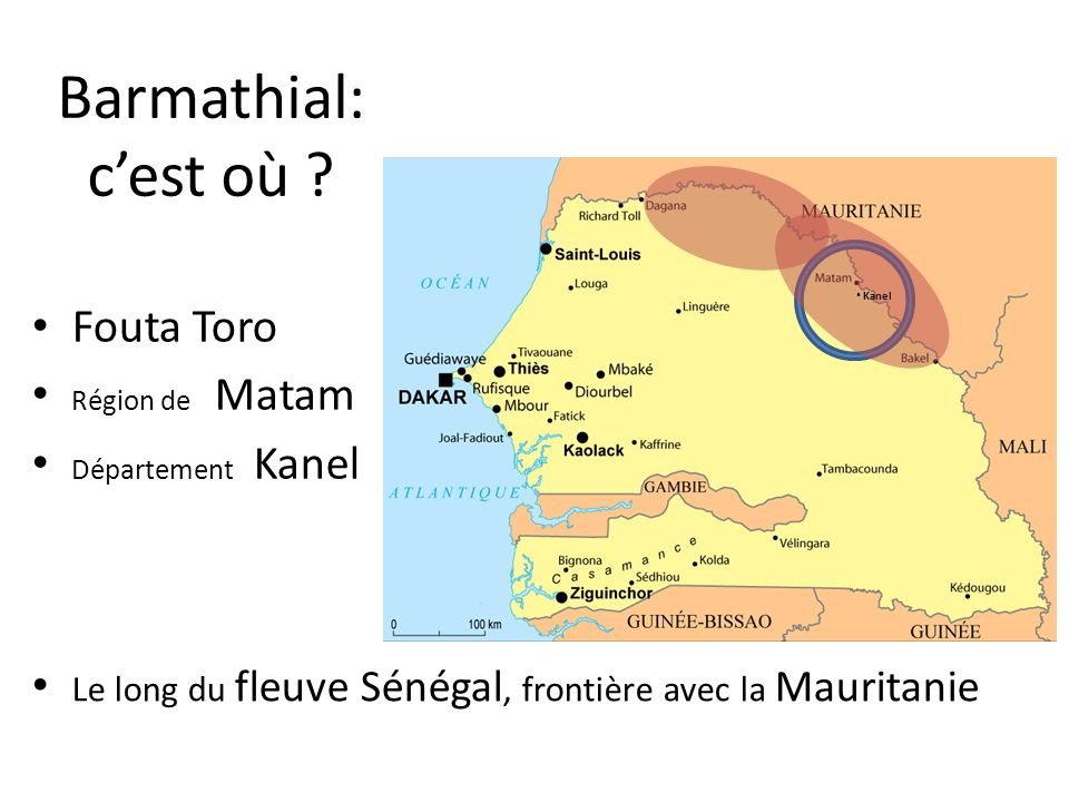 Barmathial: c'est où Fouta Toro