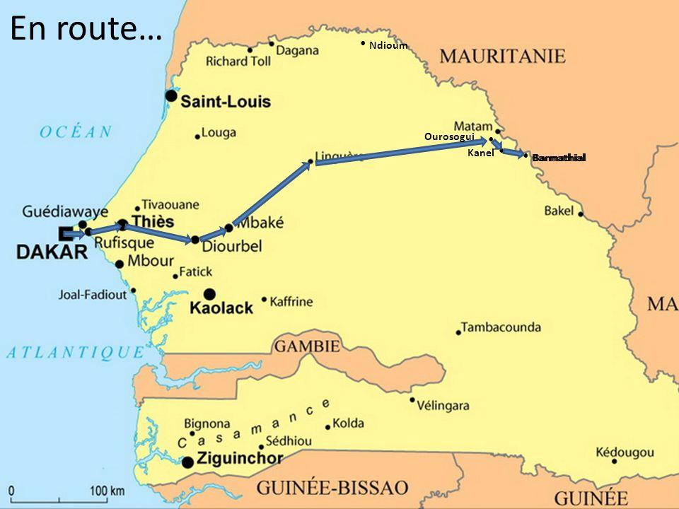 En route… Ndioum Ourosogui Kanel Barmathial Barmathial