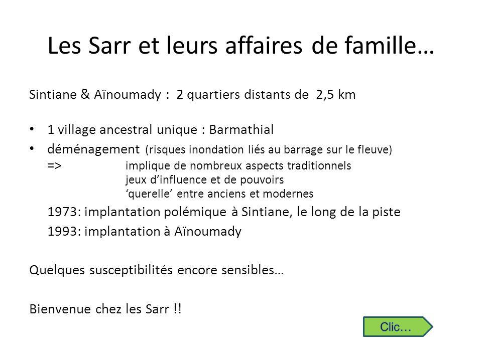 Les Sarr et leurs affaires de famille…