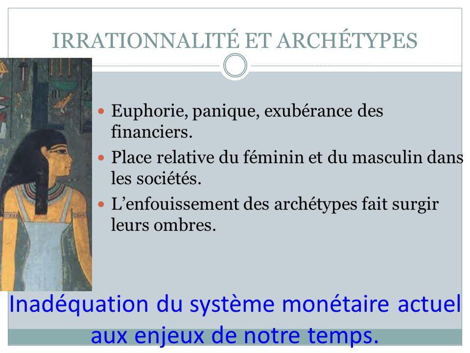 IRRATIONNALITÉ ET ARCHÉTYPES