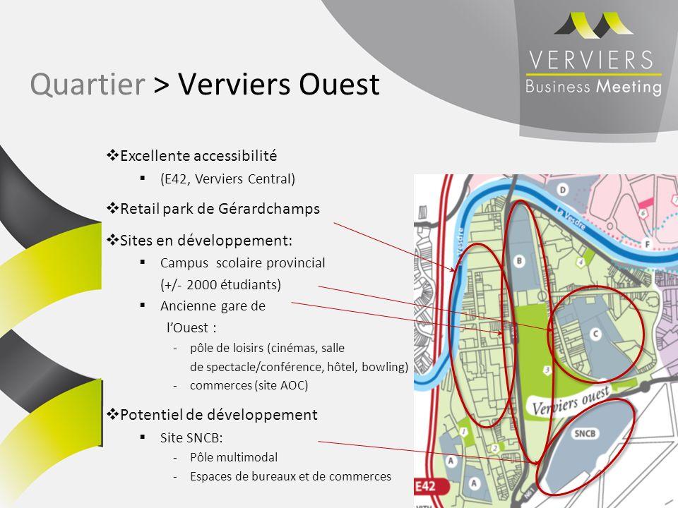 Quartier > Verviers Ouest
