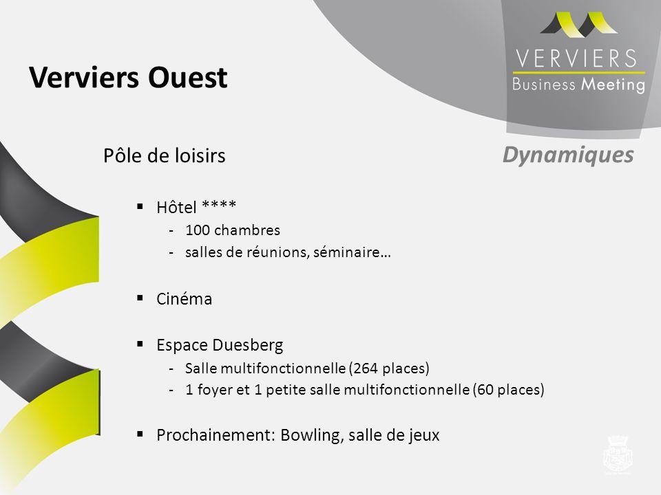 Verviers Ouest Pôle de loisirs Dynamiques Hôtel **** Cinéma