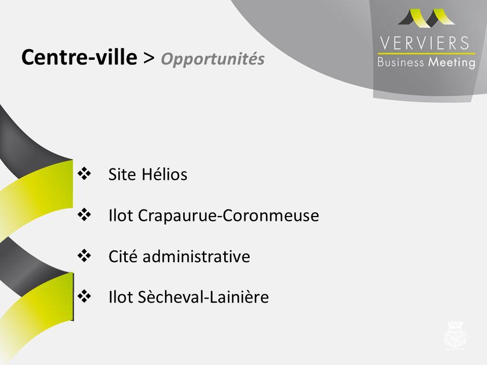Centre-ville > Opportunités