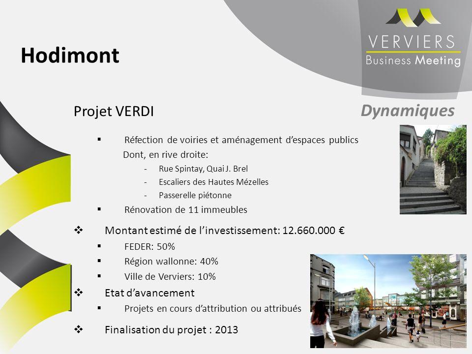 Hodimont Projet VERDI Dynamiques