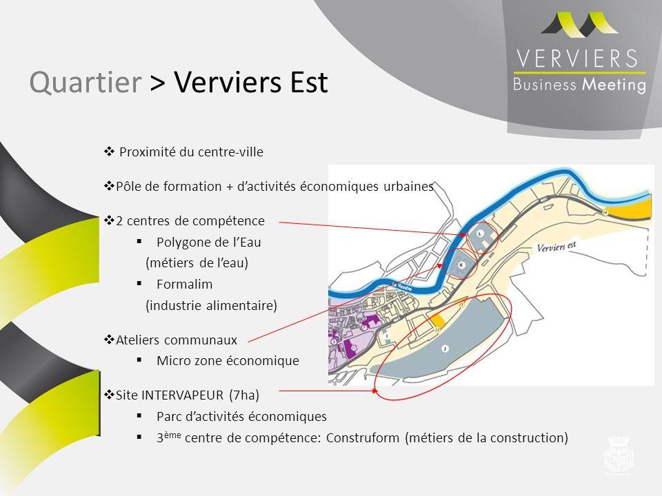 Quartier > Verviers Est