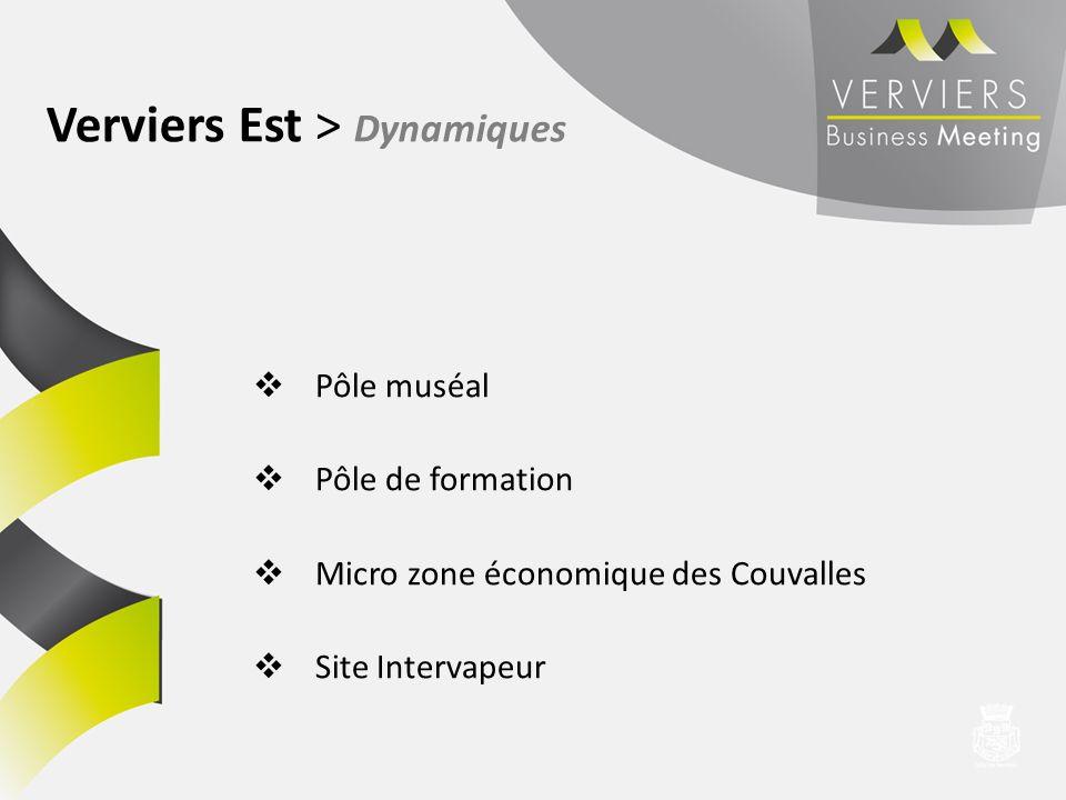 Verviers Est > Dynamiques