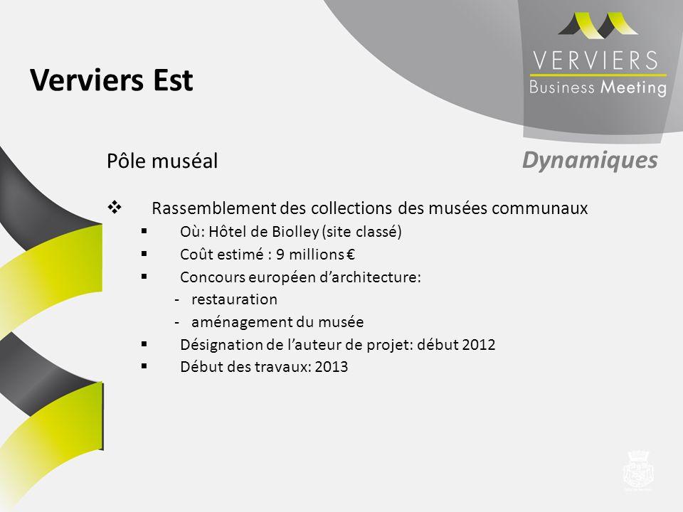 Verviers Est Pôle muséal Dynamiques