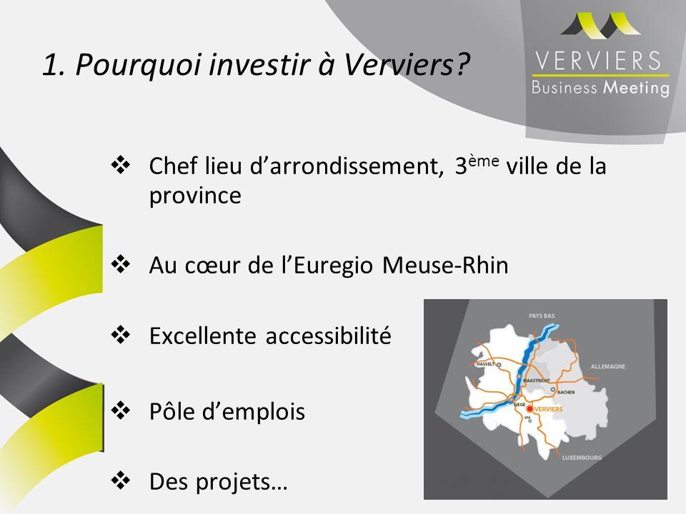 1. Pourquoi investir à Verviers