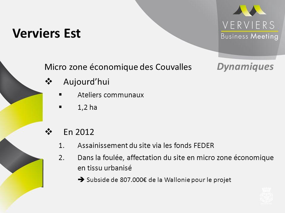 Verviers Est Micro zone économique des Couvalles Dynamiques