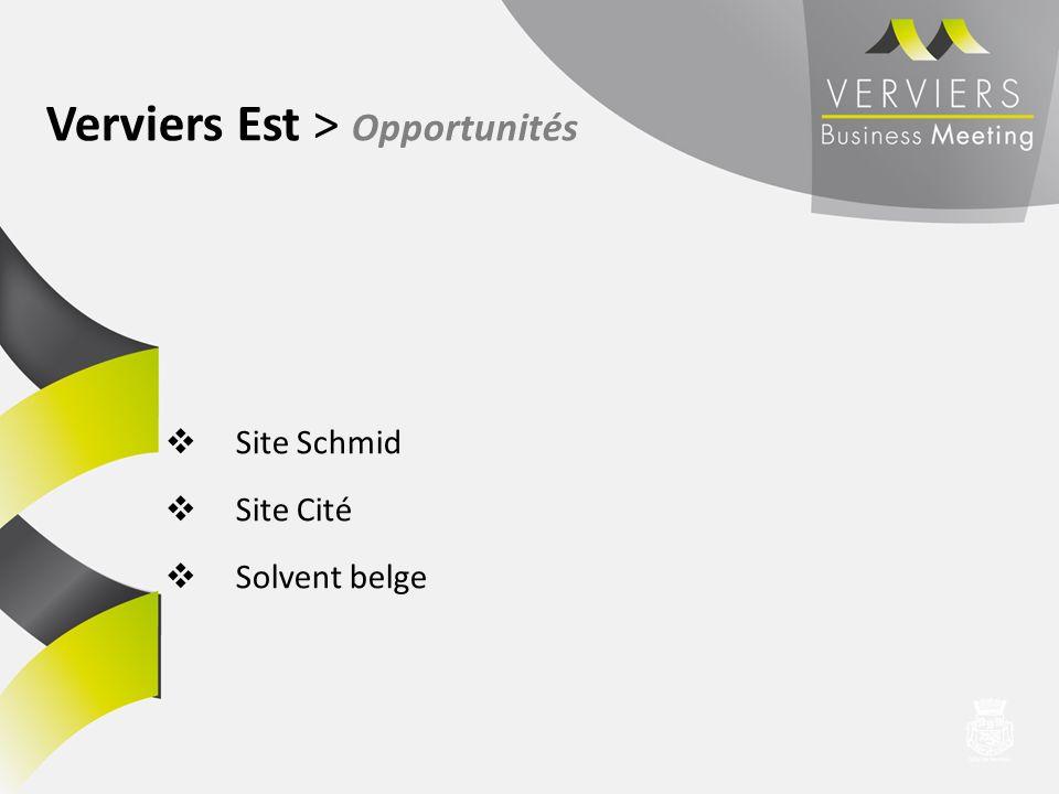 Verviers Est > Opportunités