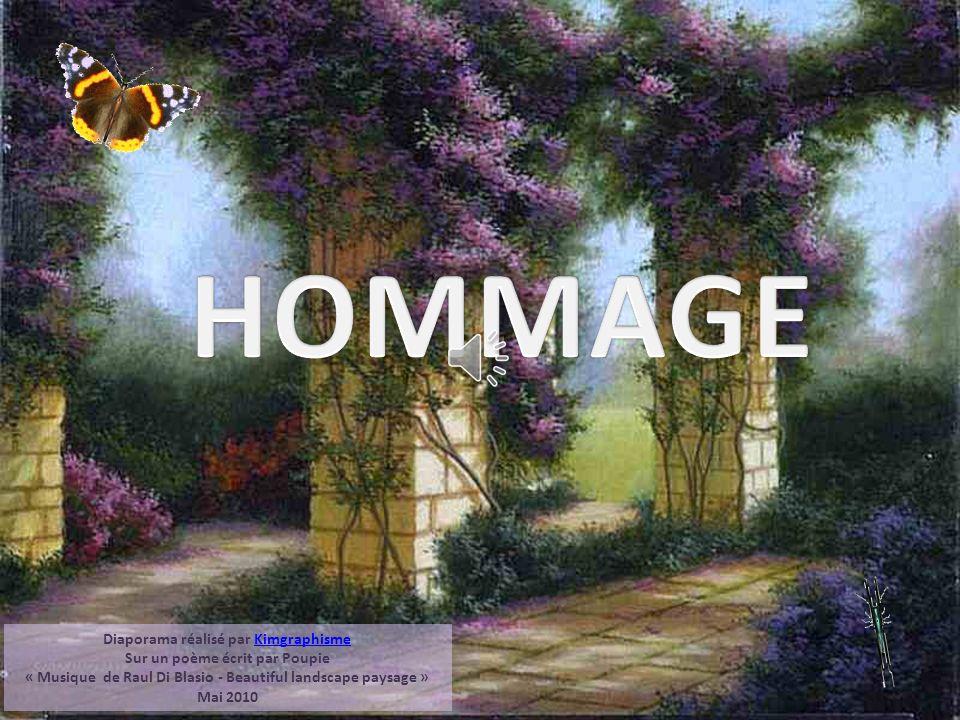 HOMMAGE Diaporama réalisé par Kimgraphisme