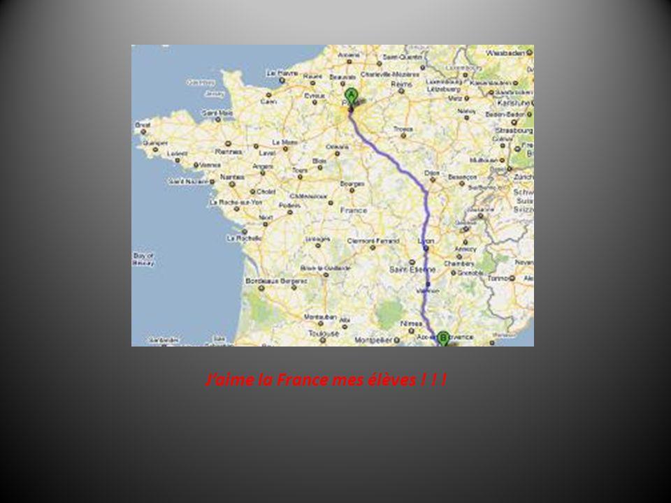 J'aime la France mes élèves ! ! !