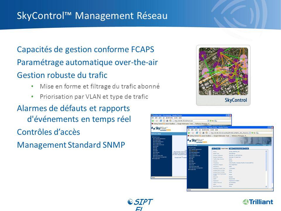SkyControl™ Management Réseau