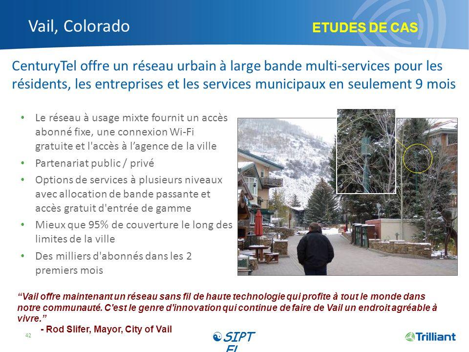 Vail, Colorado ETUDES DE CAS.