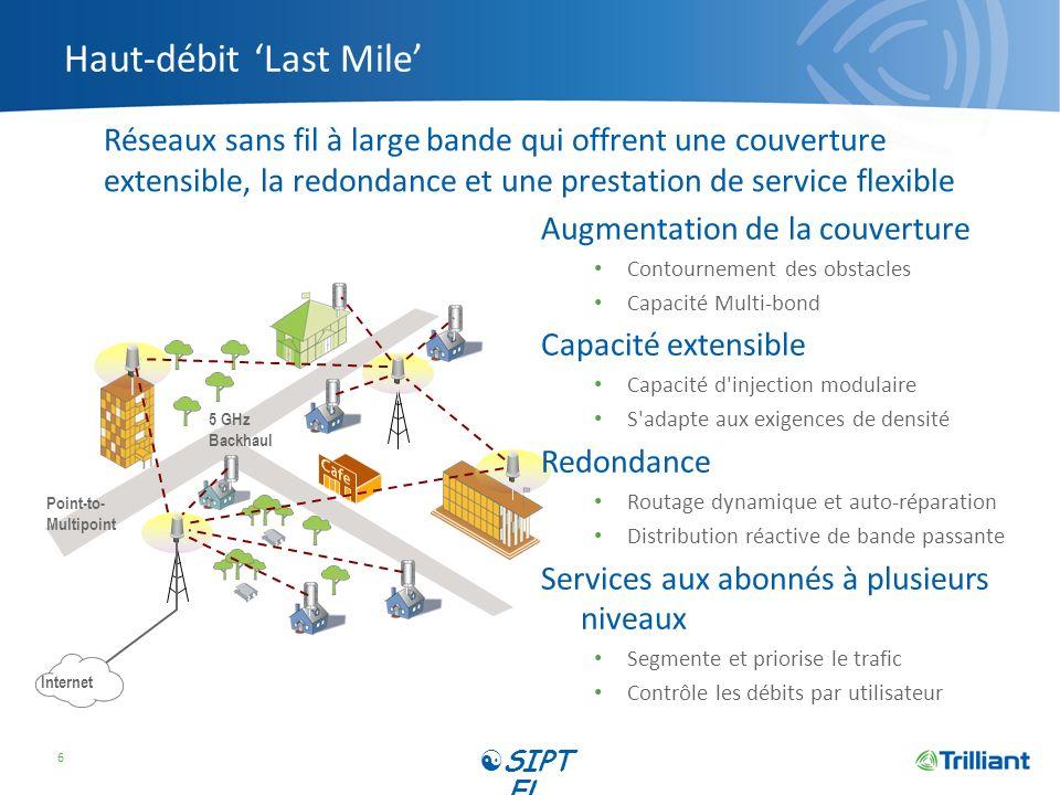 Haut-débit 'Last Mile'