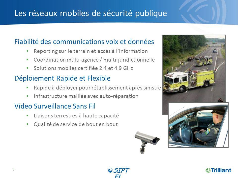 Les réseaux mobiles de sécurité publique