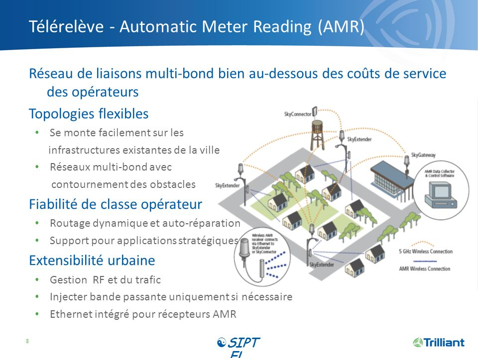 Télérelève - Automatic Meter Reading (AMR)