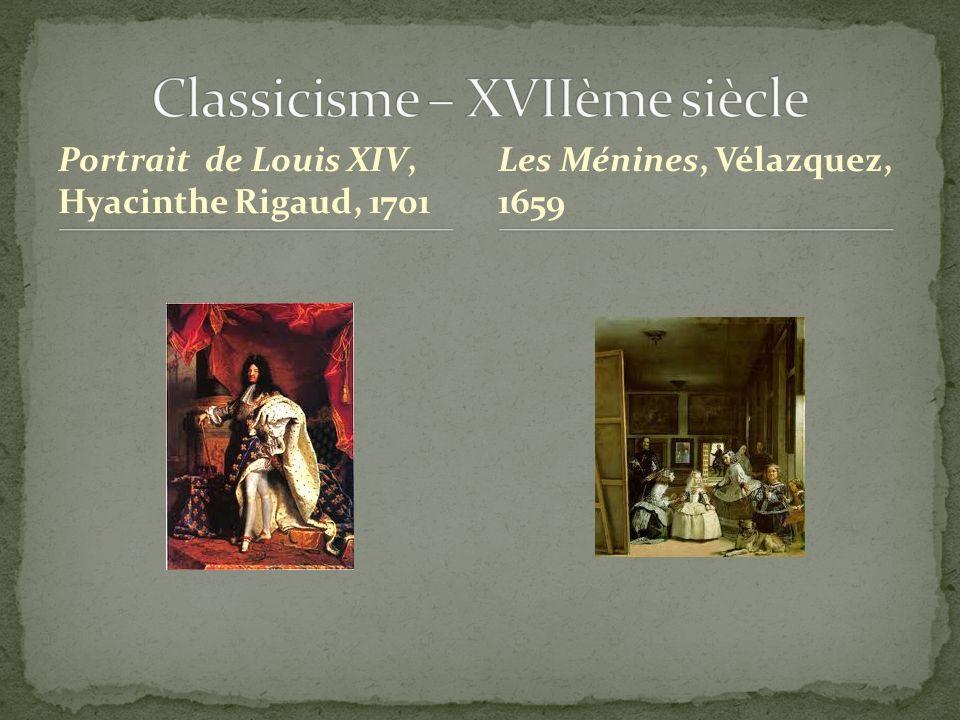 Classicisme – XVIIème siècle