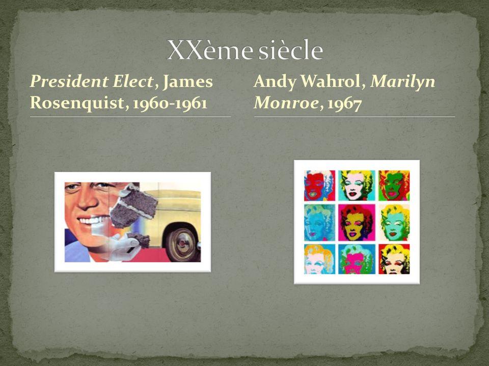 XXème siècle President Elect, James Rosenquist, 1960-1961