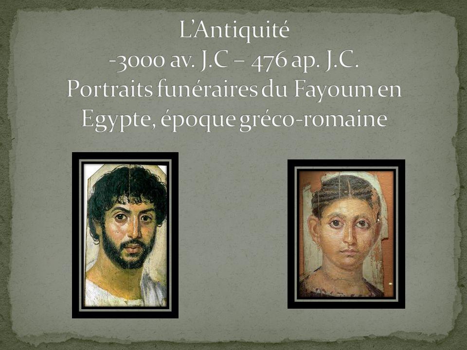 L'Antiquité -3000 av. J. C – 476 ap. J. C