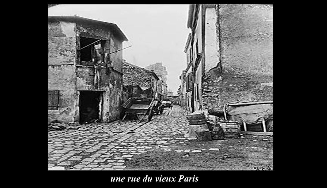 une rue du vieux Paris