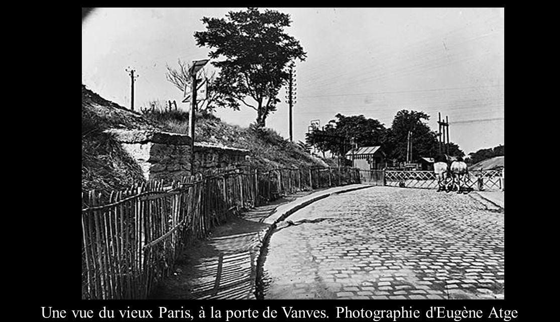 Une vue du vieux Paris, à la porte de Vanves