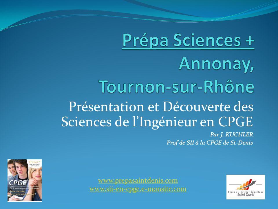 Prépa Sciences + Annonay, Tournon-sur-Rhône