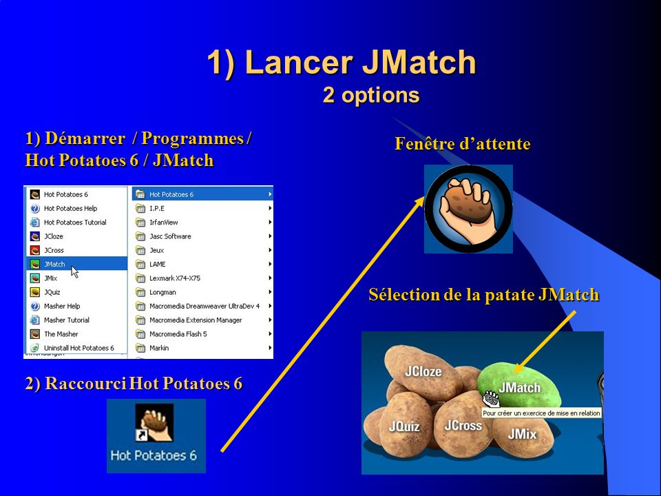 1) Lancer JMatch 2 options