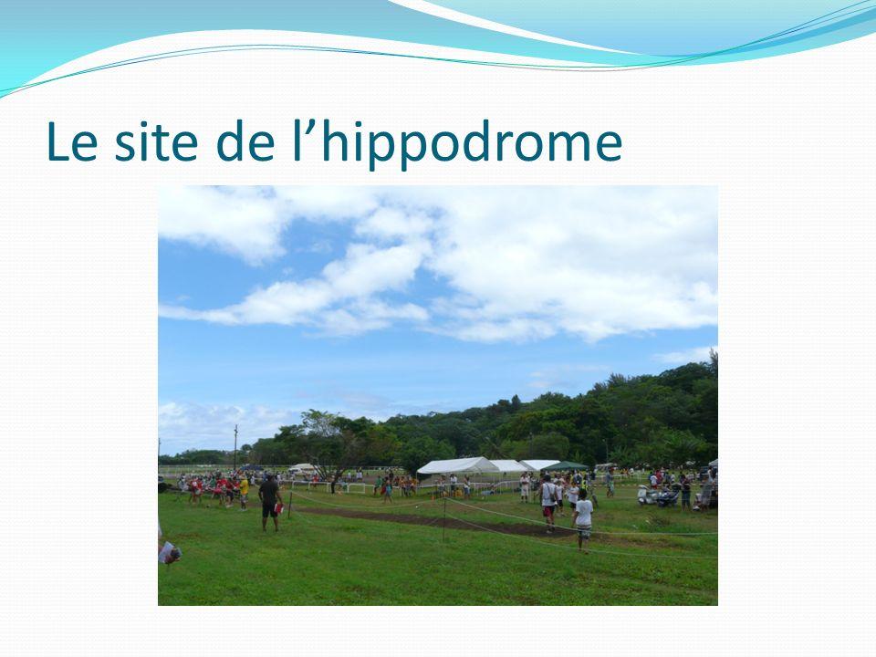 Le site de l'hippodrome