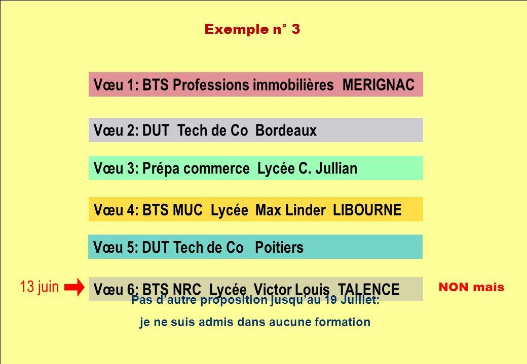 Vœu 1: BTS Professions immobilières MERIGNAC