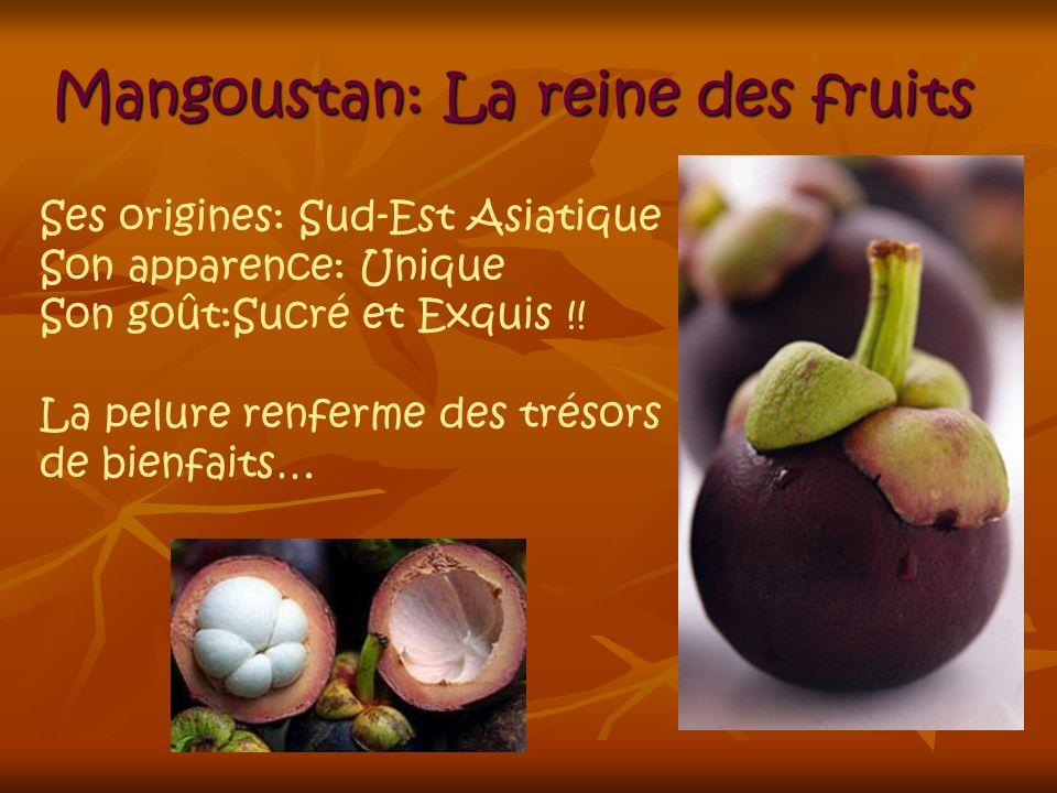 Mangoustan: La reine des fruits