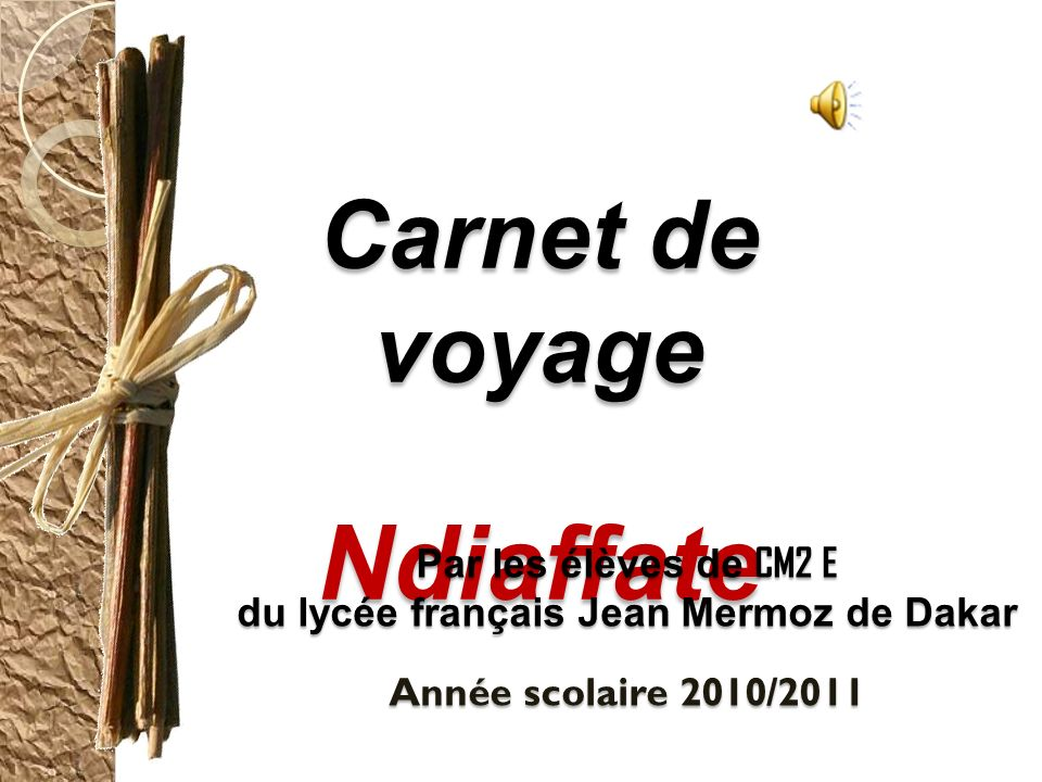 du lycée français Jean Mermoz de Dakar