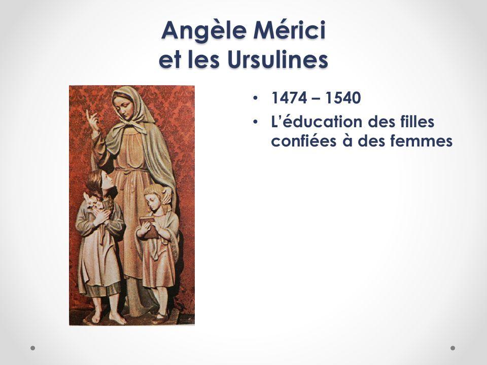 Angèle Mérici et les Ursulines