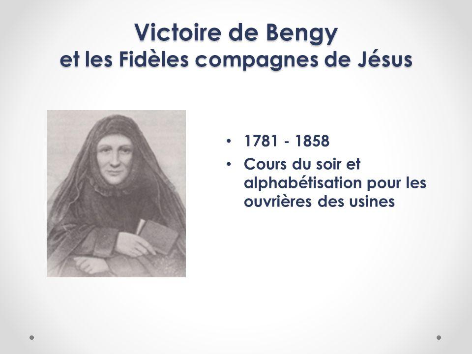 Victoire de Bengy et les Fidèles compagnes de Jésus