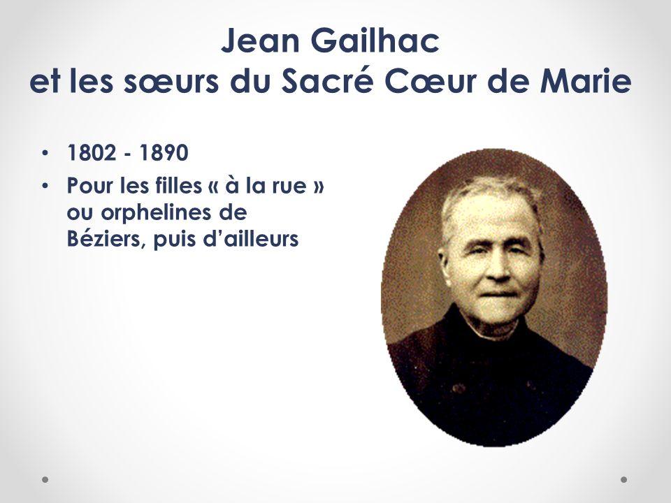 Jean Gailhac et les sœurs du Sacré Cœur de Marie