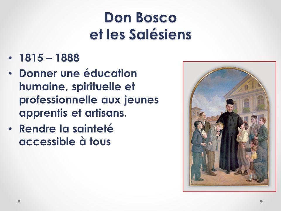 Don Bosco et les Salésiens