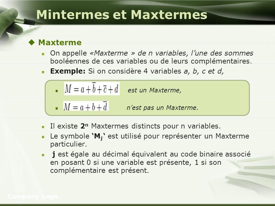 Mintermes et Maxtermes