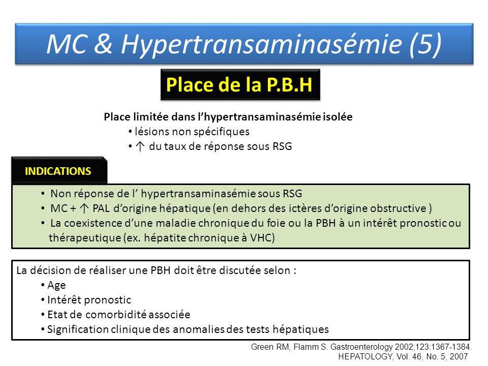 MC & Hypertransaminasémie (5)