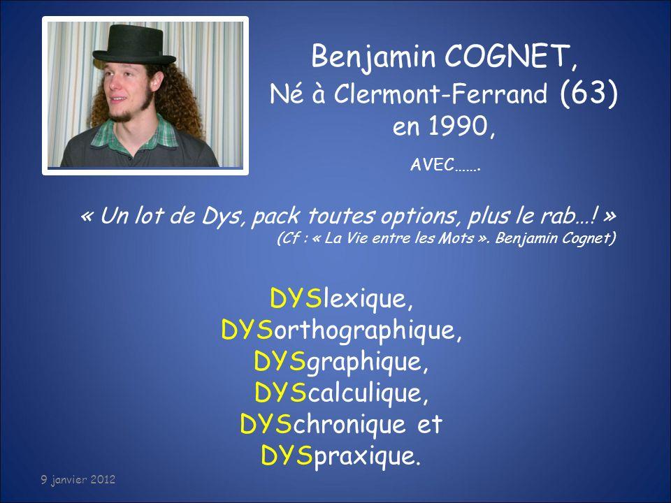 Né à Clermont-Ferrand (63) en 1990,