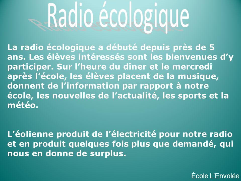 Radio écologique