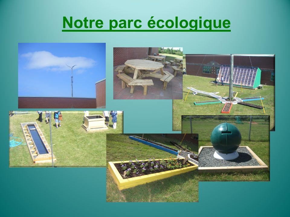 Notre parc écologique